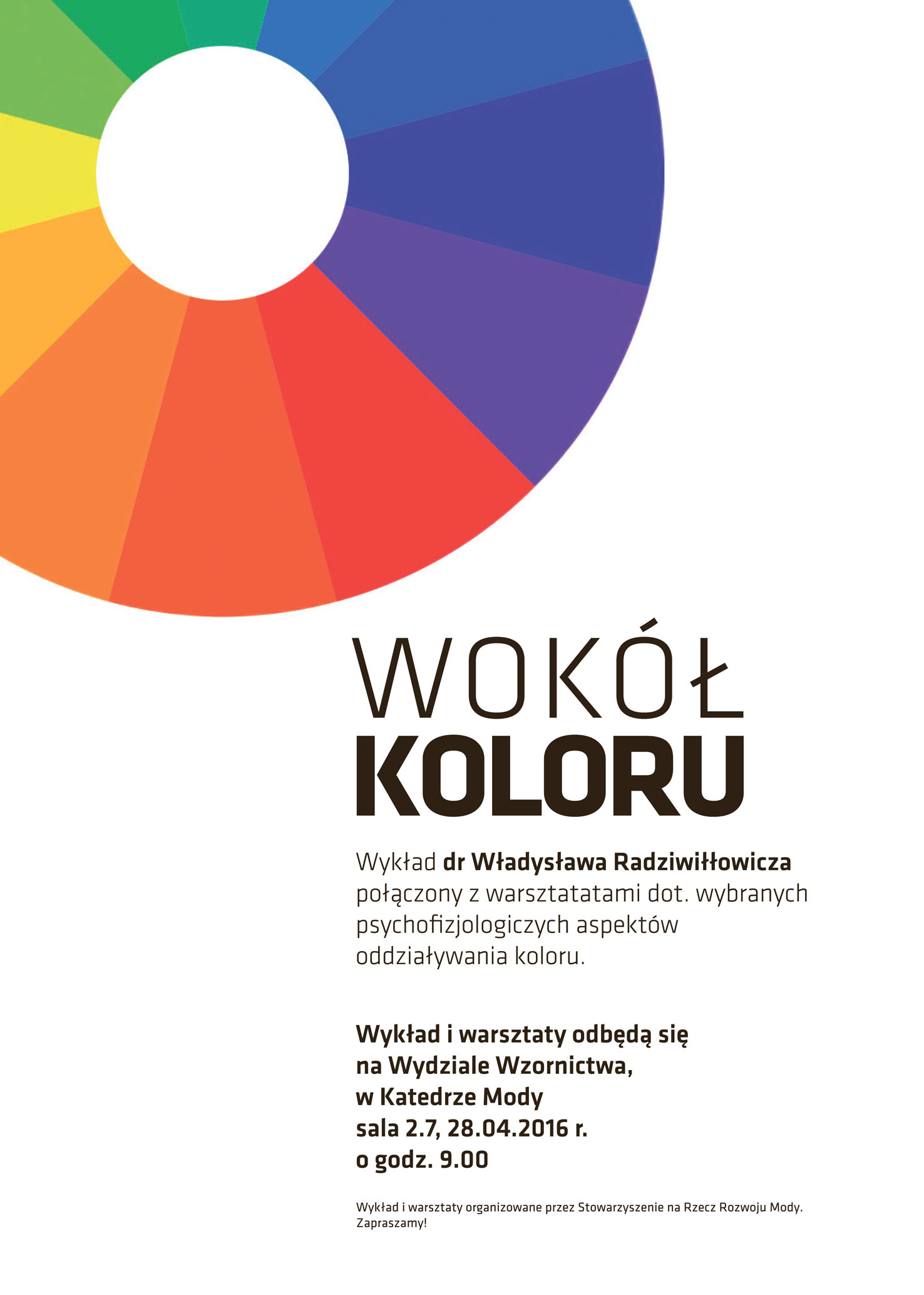 Plakat wokó³ koloru krzywe