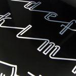 Małgorzata Rumiński, projekt kroju pisma inspirowanego neonem