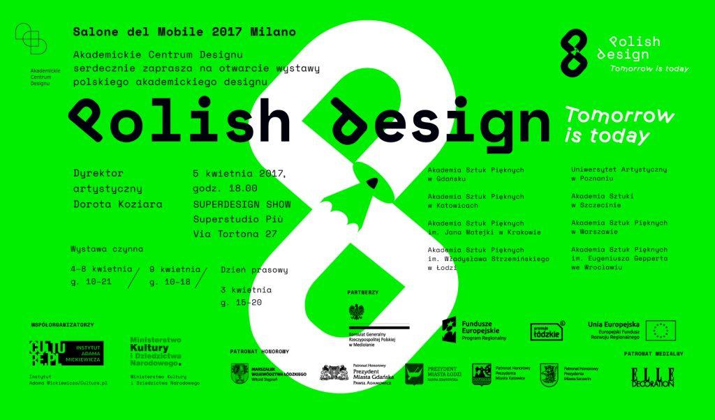 Polish Design Tomorrow Is Today Wydział Wzornictwa