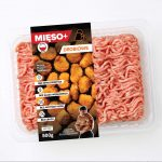 Mięso mielone wopakowaniu