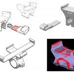 Projekt Juli Jaworskiej rowerowego uchwytu natelefon