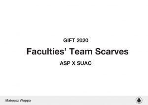 Mateusz Wappa, Faculties' Team Scarves