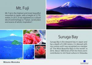 Momoka Mizuno, Page stopper × Mt. Fuji and Suruga Bay